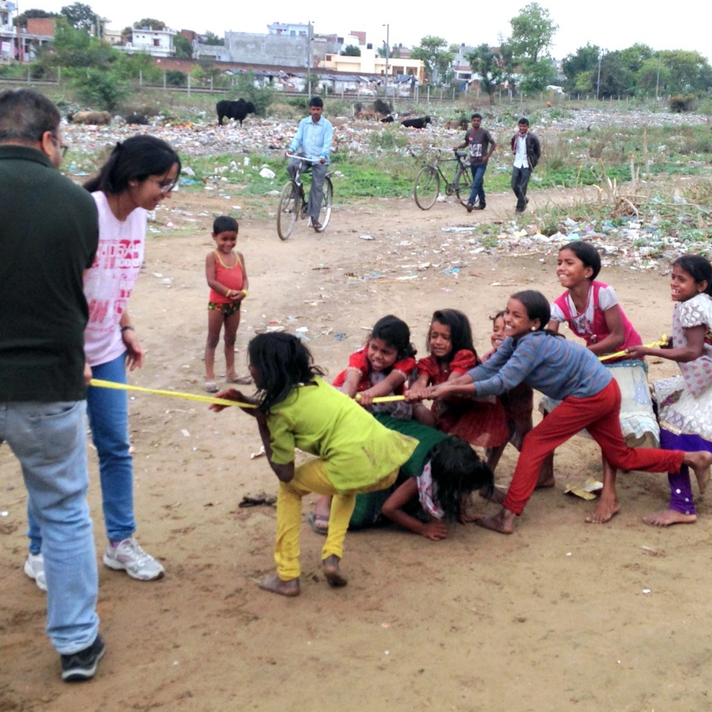 Do You Know What A Game Of Tug-o-war Can Bring Out In Kids