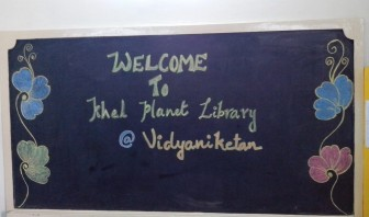 Khel Planet's first toy library at the Vidya Niketan School