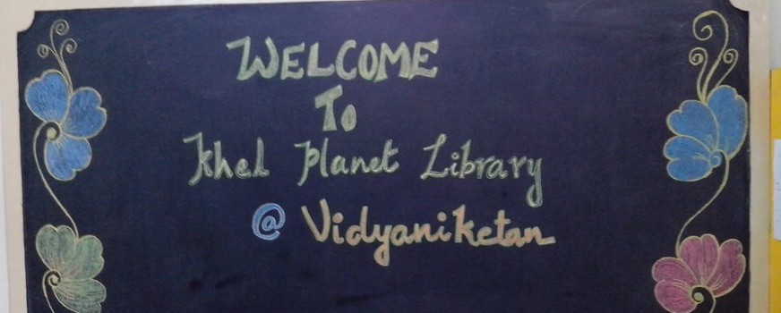 Khel Planet's first toy library at the Vidya Niketan School